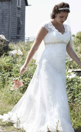 Plus Size Bridal Gowns - your guide to finding the one!